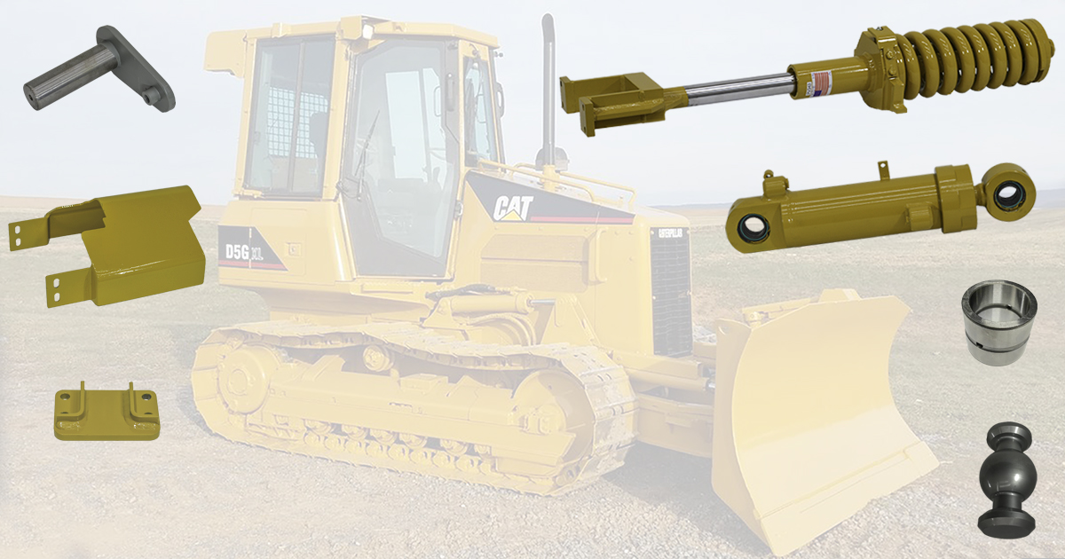 New Replacement Parts for Cat Dozers