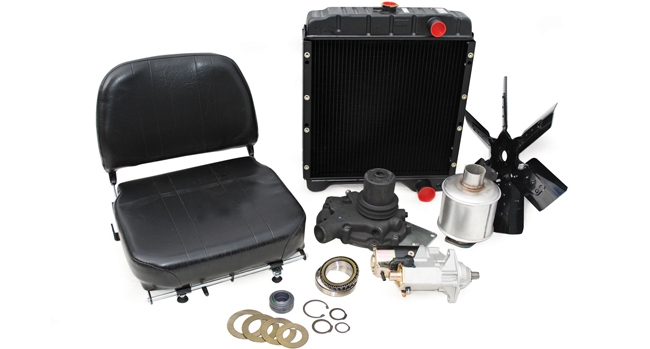 Water Pumps, Mufflers, Radiators and Seats