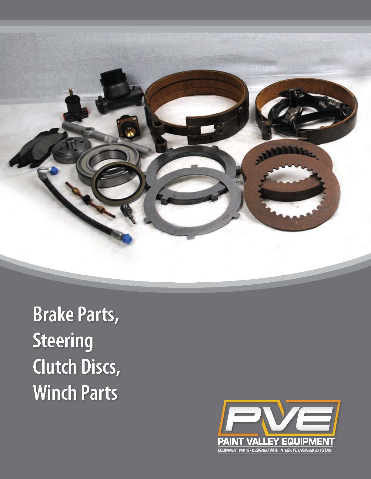 Section_F winch parts, brake parts, steering clutch discs paint valley equipment