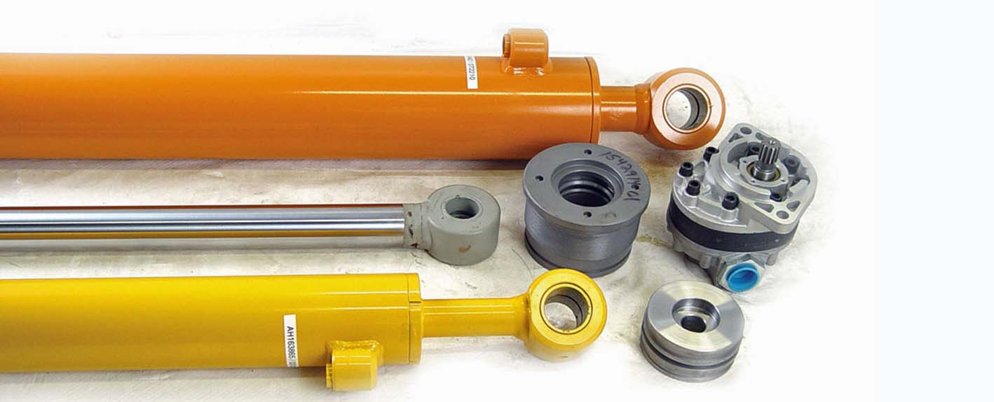 Hydraulic Cylinder Parts : Cylinders assemblies hydraulic pumps paint valley